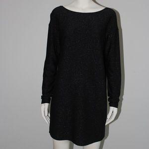 Low back long sleeve dress